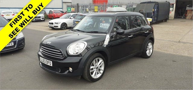2013 MINI Countryman 1.6TD Cooper D Business Edition (63 reg)