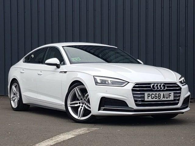 2019 Audi A5 2.0 35 TFSI S Line (s/s) Sportback 5d (68 reg)