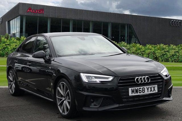 2019 Audi A4 2.0 40 TFSI Black Edition (68 reg)