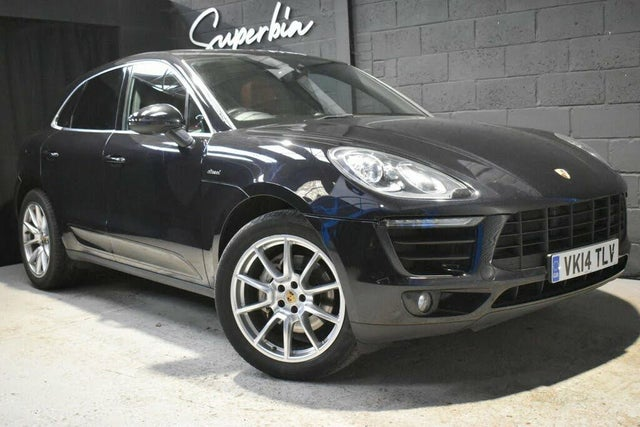 2014 Porsche Macan 3.0TD S (14 reg)