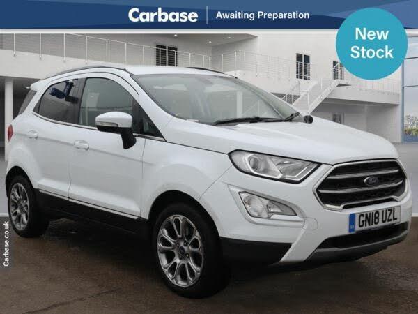 2018 Ford EcoSport 1.0T Titanium (125ps) (18 reg)