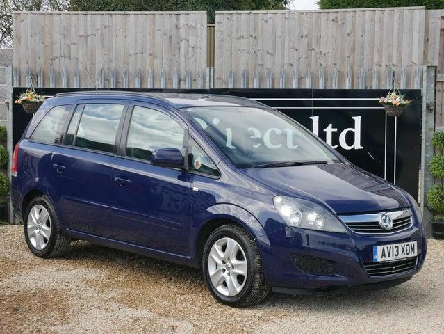 2013 Vauxhall Zafira 1.6 Exclusiv (13 reg)