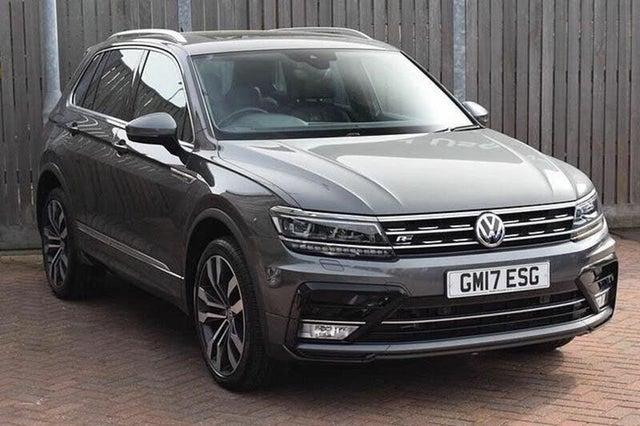 2017 Volkswagen Tiguan 2.0TDI R Line (240ps) (17 reg)