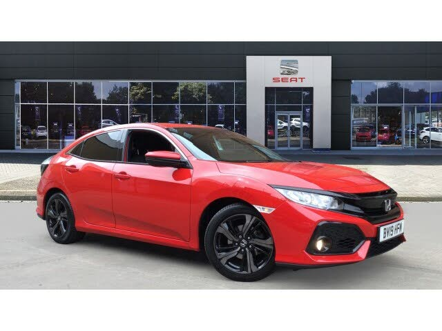2019 Honda Civic 1.0 VTEC TURBO SR Hatchback 5d (19 reg)