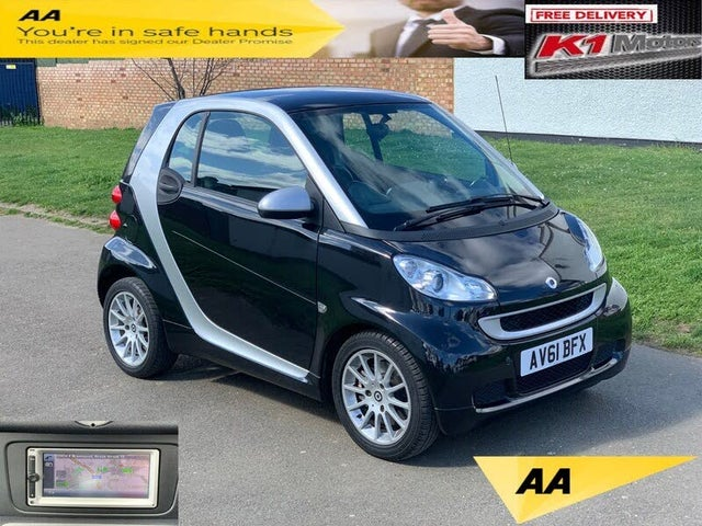2011 Smart fortwo 1.0 Passion (71bhp) Coupe Softouch (61 reg)