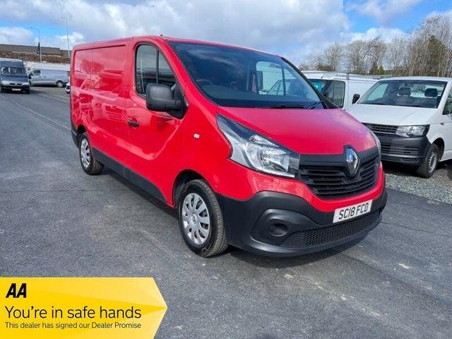 2018 Renault Trafic 1.6dCi SL27 120 Business E6 Panel Van (18 reg)