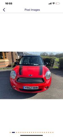2012 MINI Countryman 2.0TD Cooper D ALL4 (Pepper) (62 reg)