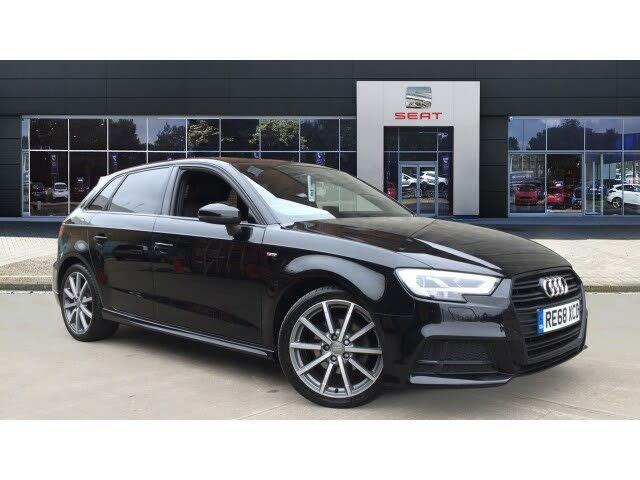 2018 Audi A3 1.0 30 TFSI Black Edition Sportback 5d (68 reg)