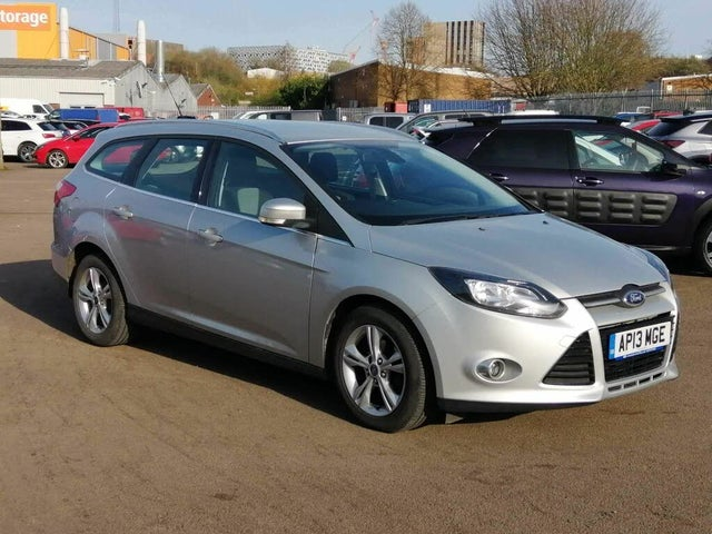 2013 Ford Focus 1.6TDCi Zetec (115ps) Estate (13 reg)
