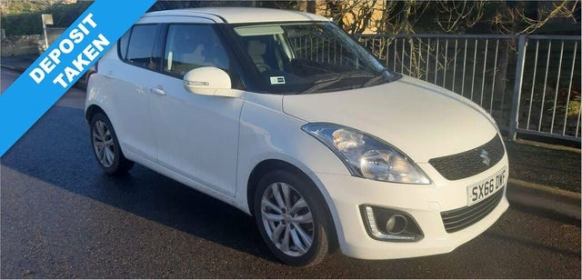 2017 Suzuki Swift 1.2 SZ4 (94ps) (+NAV) 5d AT (66 reg)