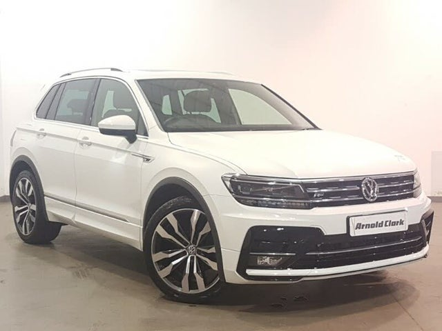 2018 Volkswagen Tiguan 2.0TDI R-Line (150ps) SCR 4Motion DSG (68 reg)