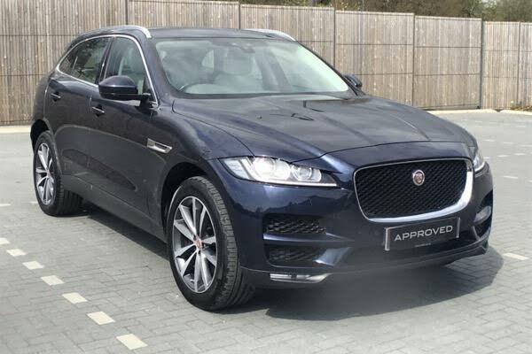2018 Jaguar F-PACE 3.0TD Portfolio (AWD) (18 reg)