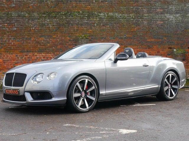 2014 Bentley Continental 4.0 GT V8 S Convertible (64 reg)
