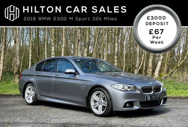 2016 BMW 5 Series 3.0TD 530d M Sport (258bhp) Saloon 4d (Z4 reg)