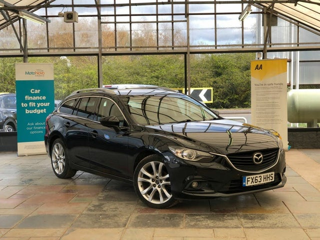 2014 Mazda Mazda6 2.2TD Sport (150ps) Nav Tourer 5d (63 reg)