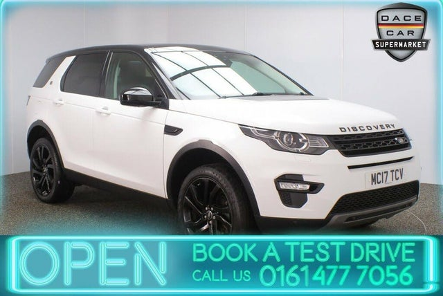 2017 Land Rover Discovery Sport 2.0Td4 HSE Black SUV (17 reg)