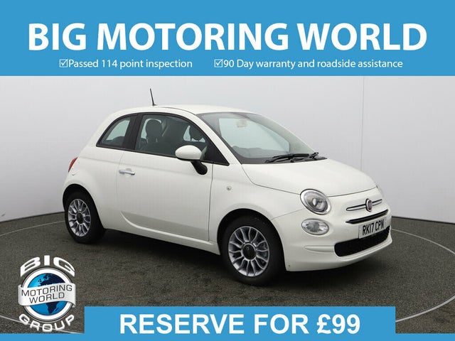 2017 Fiat 500 1.2 POP STAR (17 reg)