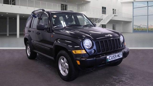 2009 Jeep Cherokee 2.8CRD Limited (174bhp) 2777cc Auto (59 reg)