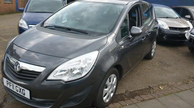 2011 Vauxhall Meriva 1.4 Exclusiv (100ps) (a/c) 1398cc (11 reg)