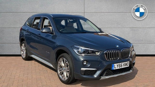 2017 BMW X1 2.0TD xDrive20d xLine Auto (66 reg)