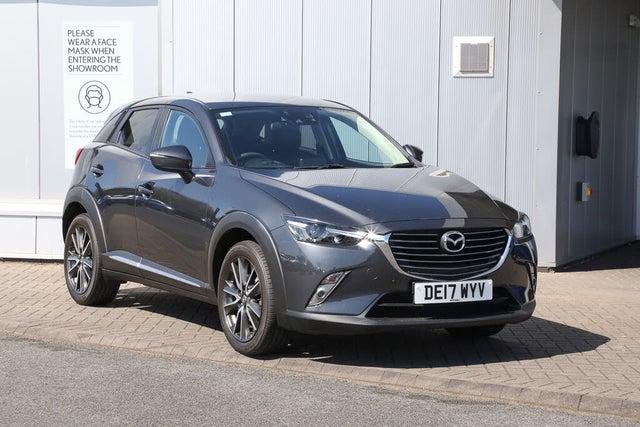 2017 Mazda CX-3 2.0 Sport Nav (120ps) (2WD)(s/s) Auto (17 reg)