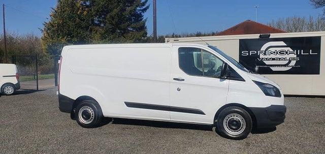 2013 Ford Transit Custom 2.2TDCi 290 L1H2 (100PS) ECOnetic Panel Van (63 reg)