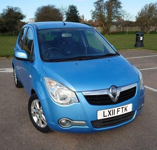 2011 Vauxhall Agila 1.2 SE 16v (a/c) ecoFLEX 1229cc auto (11 reg)