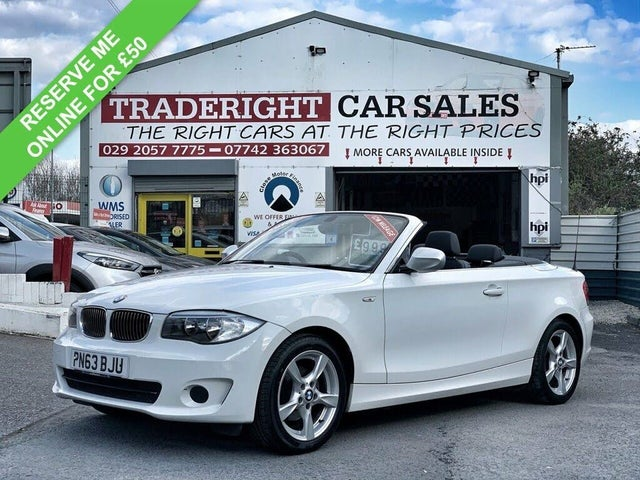 2013 BMW 1 Series 2.0TD 118d Exclusive Edition Convertible auto (63 reg)