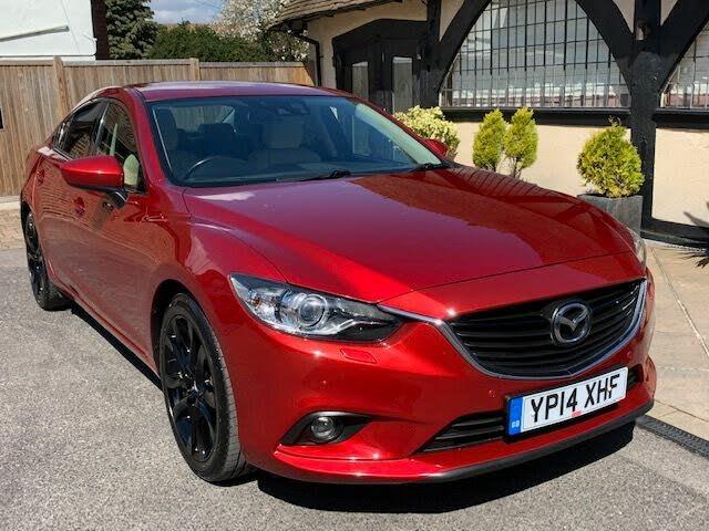 2014 Mazda Mazda6 2.2TD Sport (175ps) Nav Saloon 4d (14 reg)