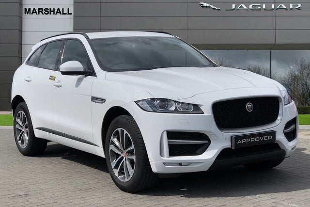 2018 Jaguar F-PACE 2.0 i4D R-Sport (180ps) (AWD) Auto (68 reg)