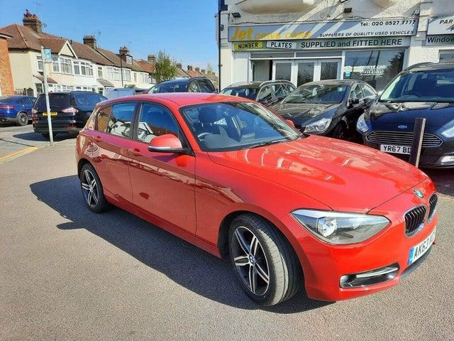 2013 BMW 1 Series 1.6 118i Sport (s/s) 5d (63 reg)