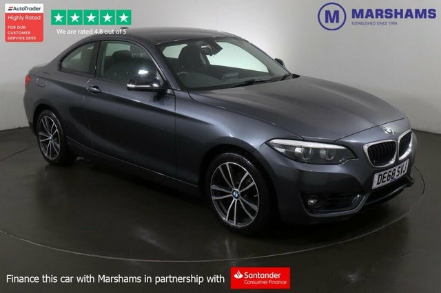 2018 BMW 2 Series 1.5 218i Sport (134bhp) Coupe 2d Auto (68 reg)