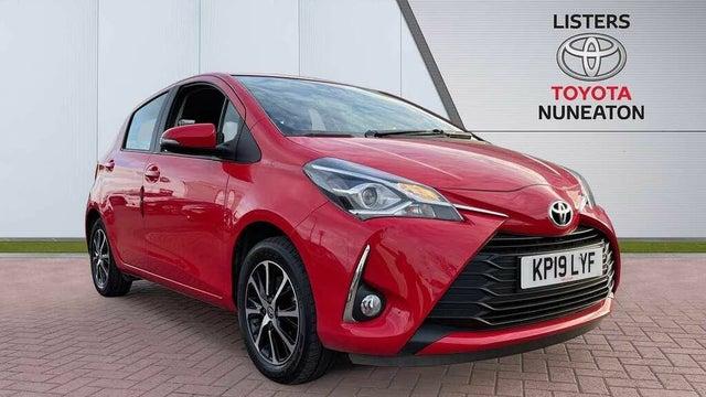2019 Toyota Yaris 1.5 VVT-i Icon Tech (111bhp) 1496cc (19 reg)
