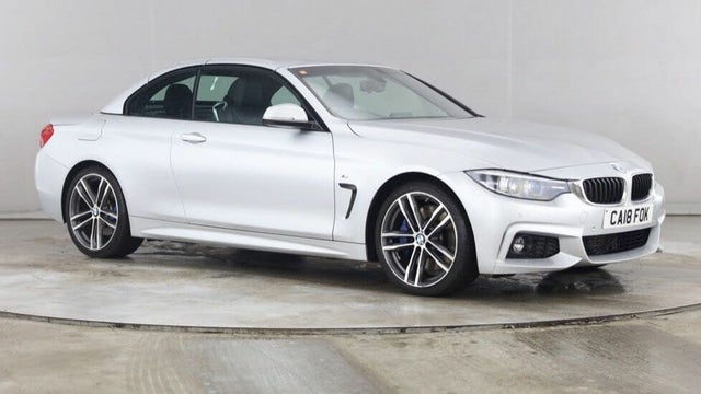 2018 BMW 4 Series 3.0TD 430d M Sport (258bhp) Convertible 2d (18 reg)