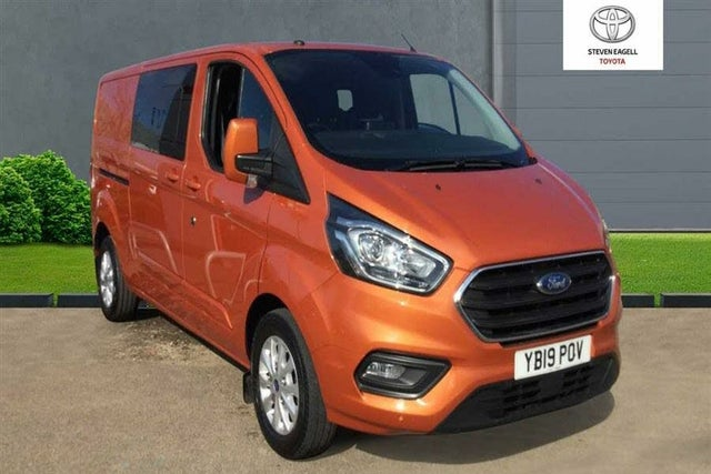 2019 Ford Transit Custom 2.0TDCi 320 L2H1 Limited (170PS)(EU6) Double Cab-in-Van auto (19 reg)