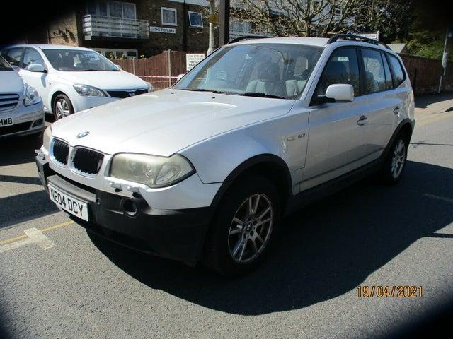 2004 BMW X3 2.5 SE auto (04 reg)