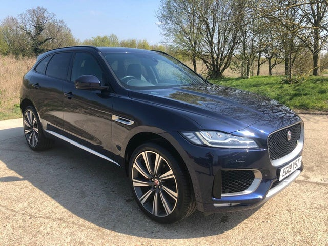 2019 Jaguar F-PACE 3.0TD S V6 (s/s) (19 reg)