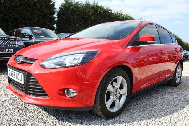 2013 Ford Focus 1.0 Zetec Navigator (125ps) Hatchback (63 reg)