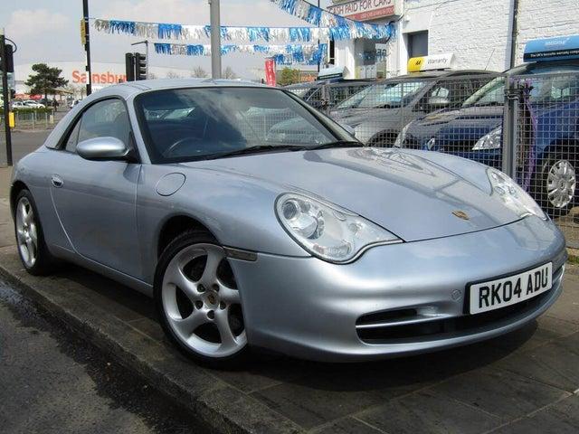 2004 Porsche 911 3.6 Carrera 2 Tiptronic S Cabriolet (04 reg)