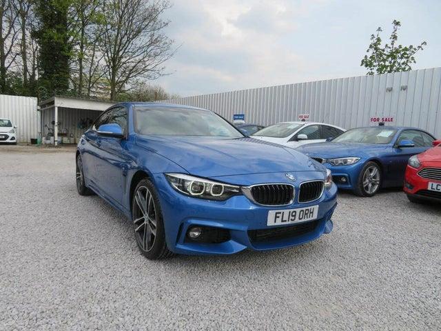 2018 BMW 4 Series 3.0TD 430d xDrive M Sport (255bhp) Gran 5d (19 reg)