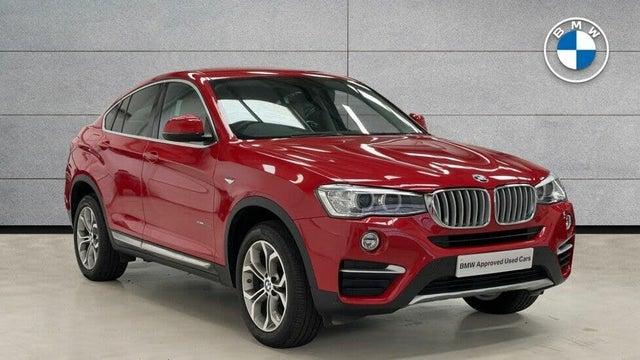 2018 BMW X4 2.0TD xDrive20d xLine Auto (18 reg)