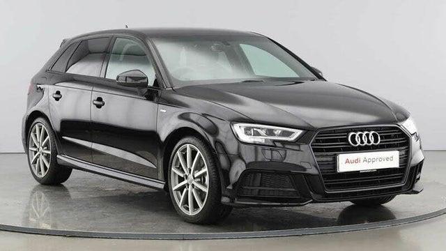 2020 Audi A3 1.6 30 TDI Black Edition Sportback 5d (70 reg)