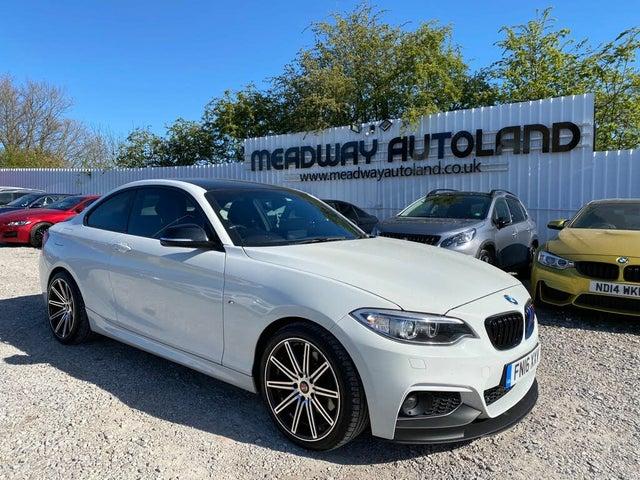 2016 BMW 2 Series 2.0TD 220d M Sport Coupe 2d Auto (16 reg)