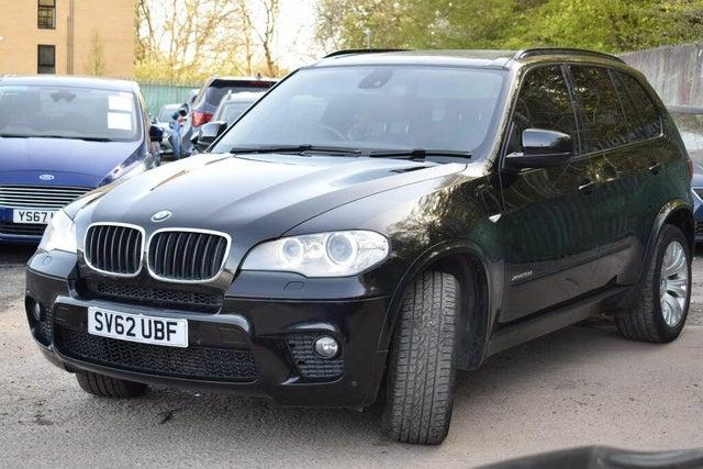 2012 BMW X5 3.0TD xDrive30d M Sport (245bhp) (s/s) Auto (62 reg)
