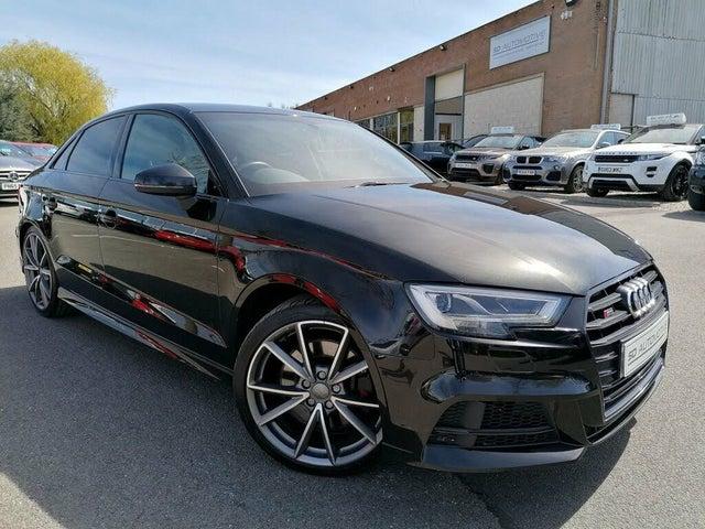 2018 Audi S3 2.0 TFSI quattro Black Edition Saloon 4d (67 reg)