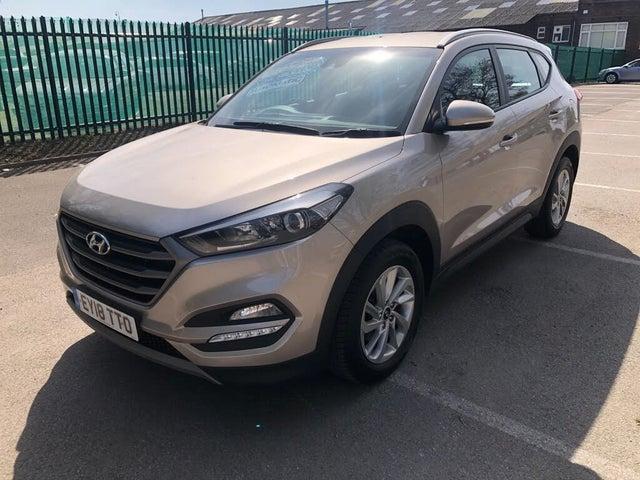 2018 Hyundai Tucson 1.7CRDi Blue Drive SE Nav (141ps) DCT (18 reg)