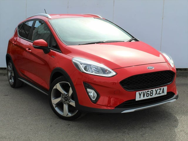 2019 Ford Fiesta 1.0T Active X (140ps) (68 reg)