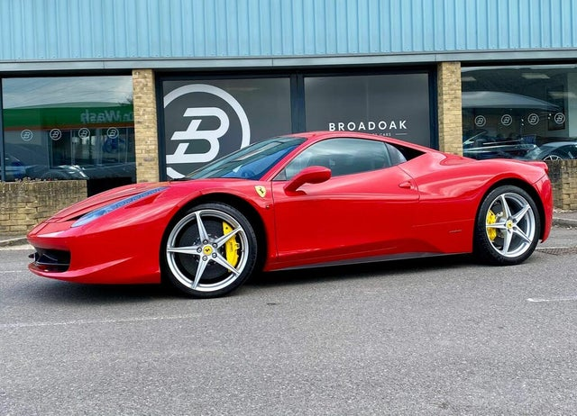 2012 Ferrari 458 4.5 Italia (8A reg)