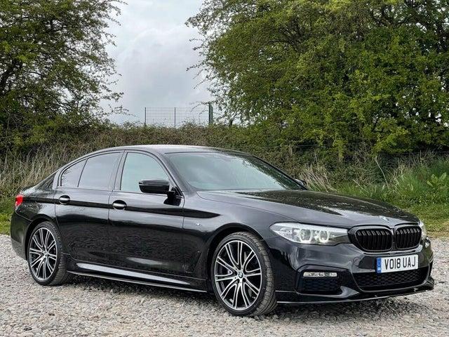 2018 BMW 5 Series 3.0 540i M Sport Saloon 4d (18 reg)