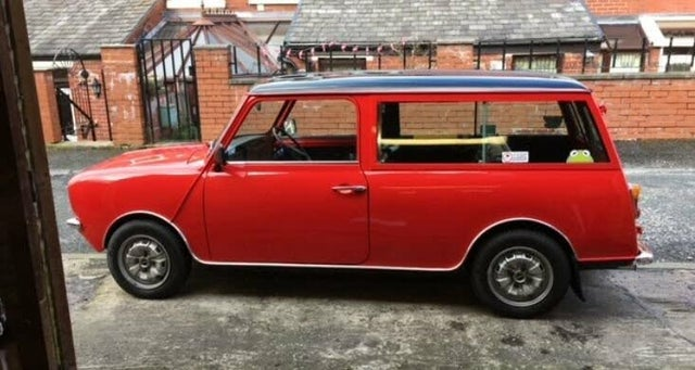 1979 Austin Mini 1.1 Clubman Estate 3d